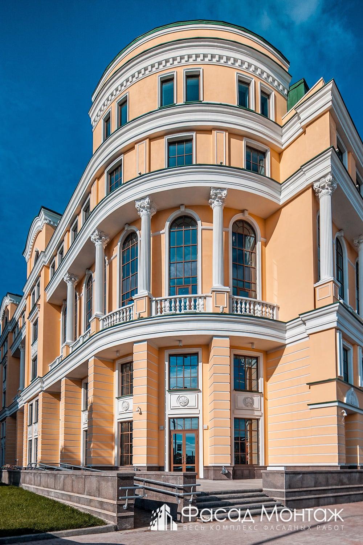 Штукатурный фасад - фото 1