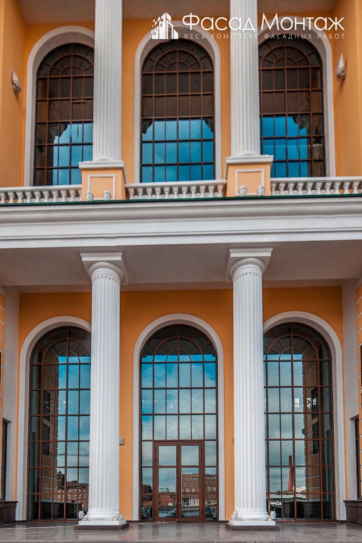 Штукатурный фасад - фото 3