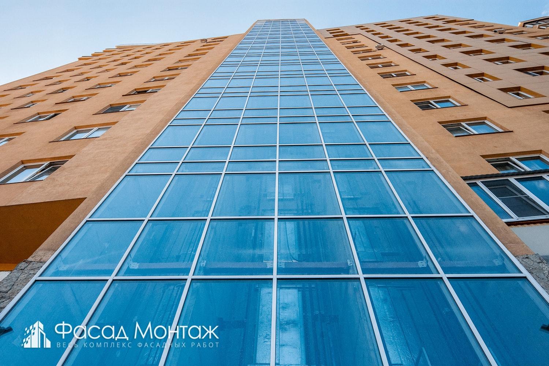 Штукатурный фасад - фото 5