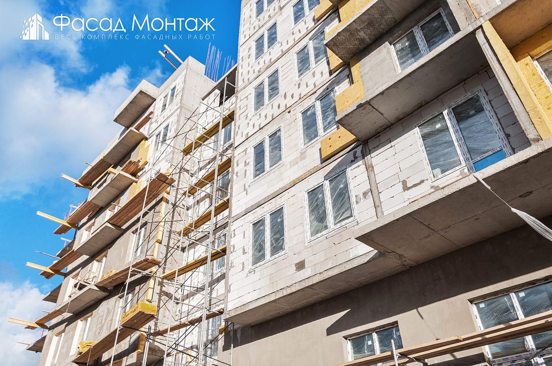 Штукатурный фасад - фото 7
