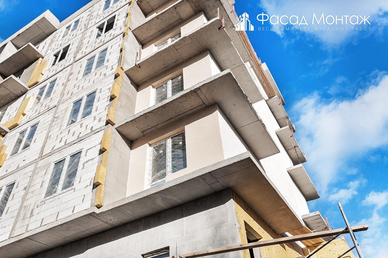 Штукатурный фасад - фото 8