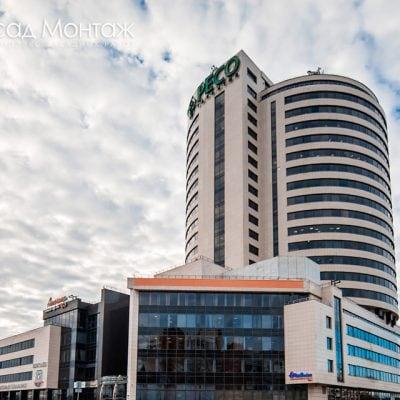 Балтийский деловой центр фасадные работы
