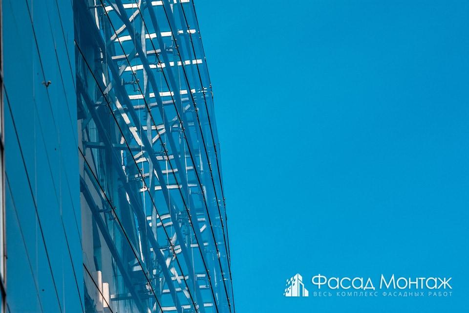 Бизнес Центр Atrio (ГСК) фасадные работы
