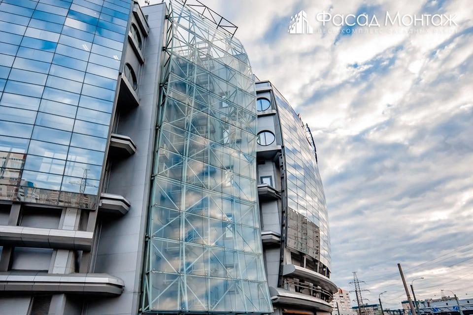 ТРК Атмосфера фасадные работы
