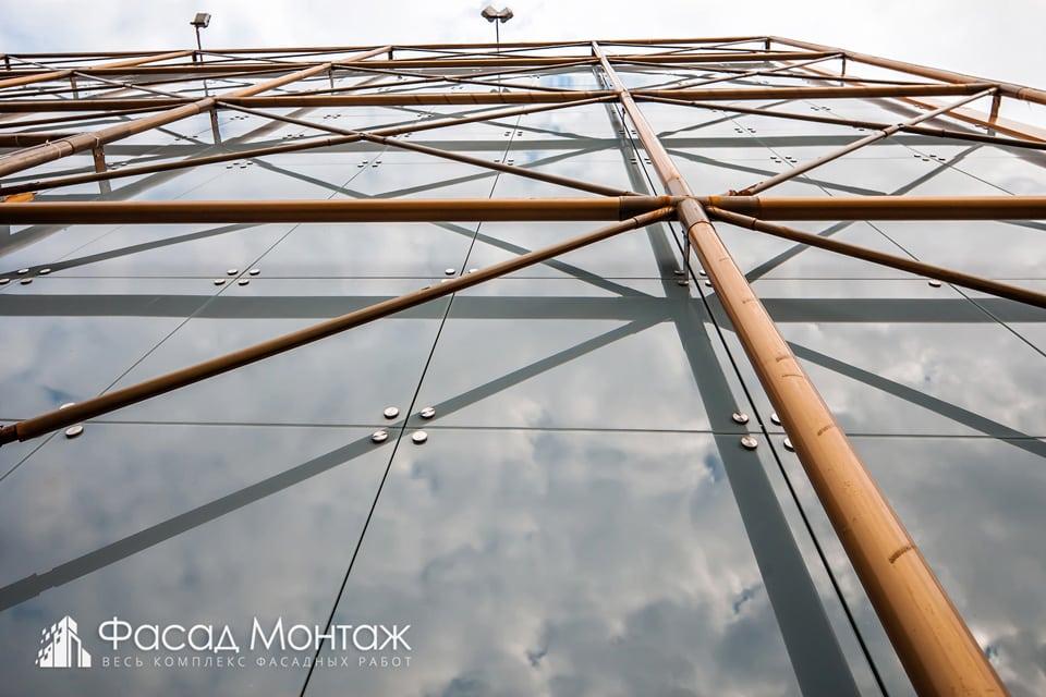 ТРК Модный Променад фасадные работы