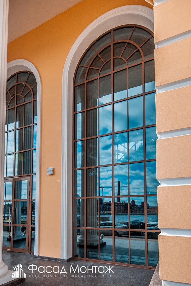 Бизнес Центр Лукойл фасадные работы