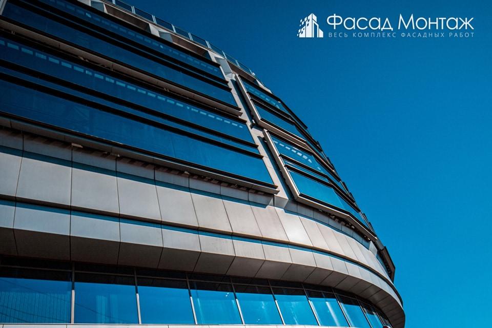 Бизнес Центр Москва фасадные работы