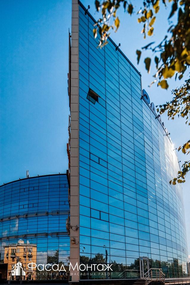 Бизнес Центр Радиус фасадные работы