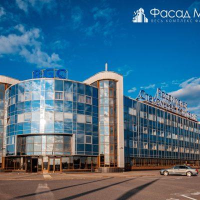 Бизнес центр РСК фасадные работы