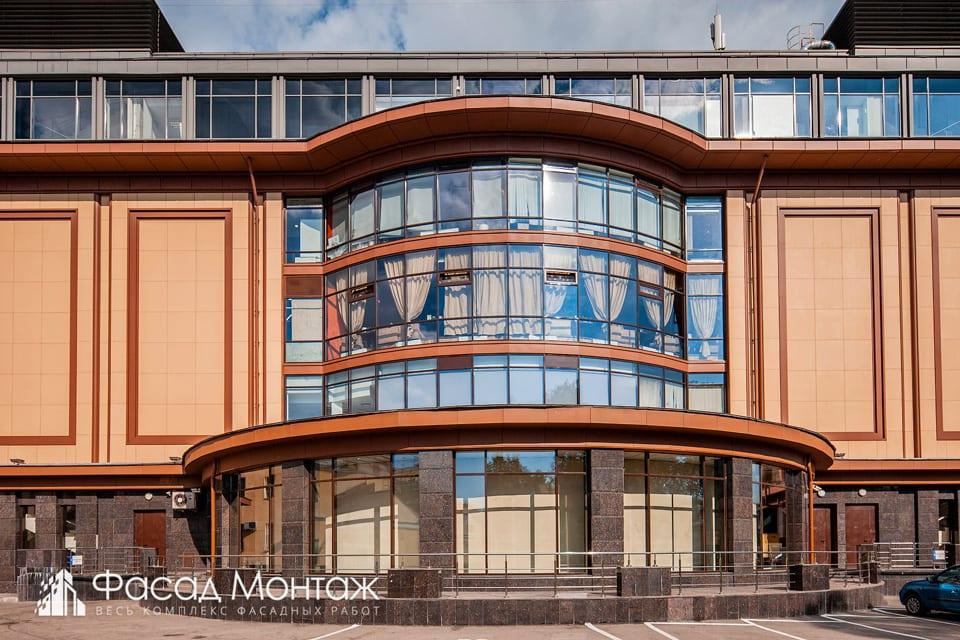 ТЦ Звенигородский фасадные работы