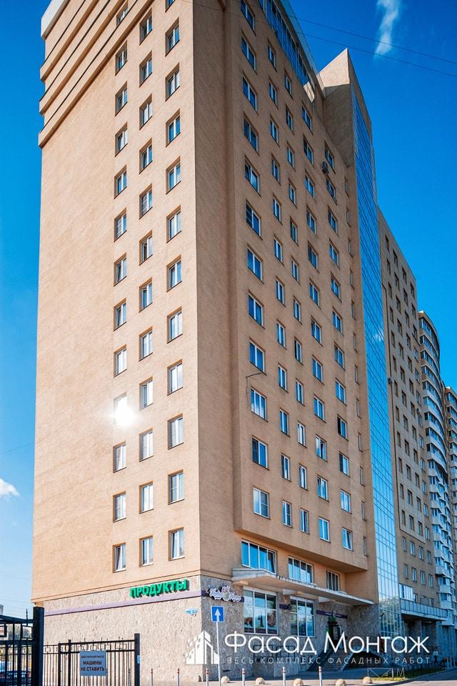 Жилой Комплекс Фортис фасадные работы