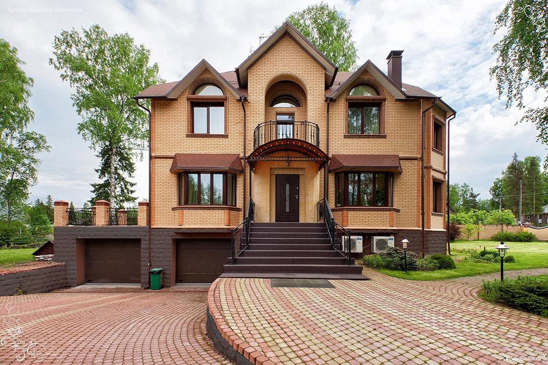 Виды и типы облицовки (отделки) фасадов домов, зданий - лицевой кирпич
