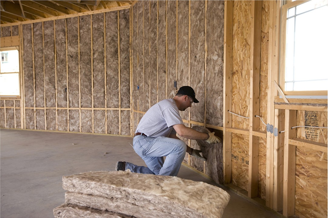 Виды утеплителей для стен и их характеристики - Минеральная вата