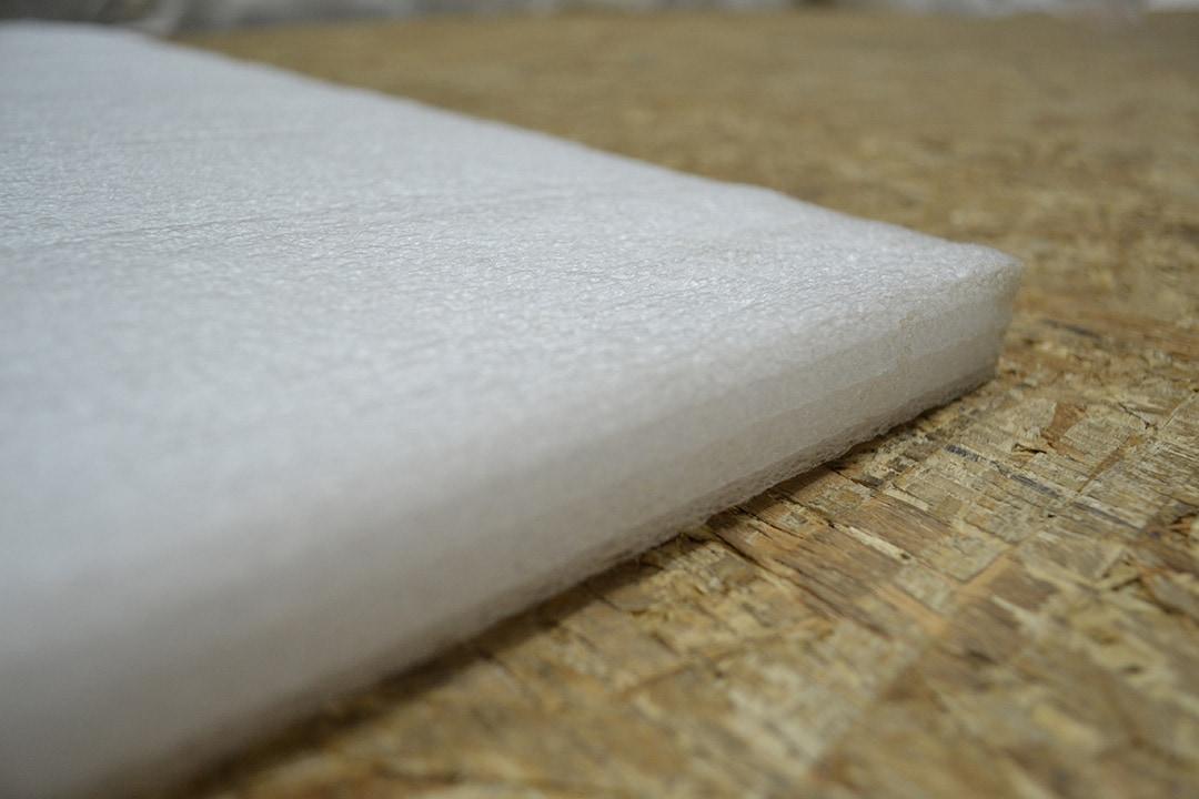 Виды утеплителей для стен и их характеристики - вспененный полиэтилен