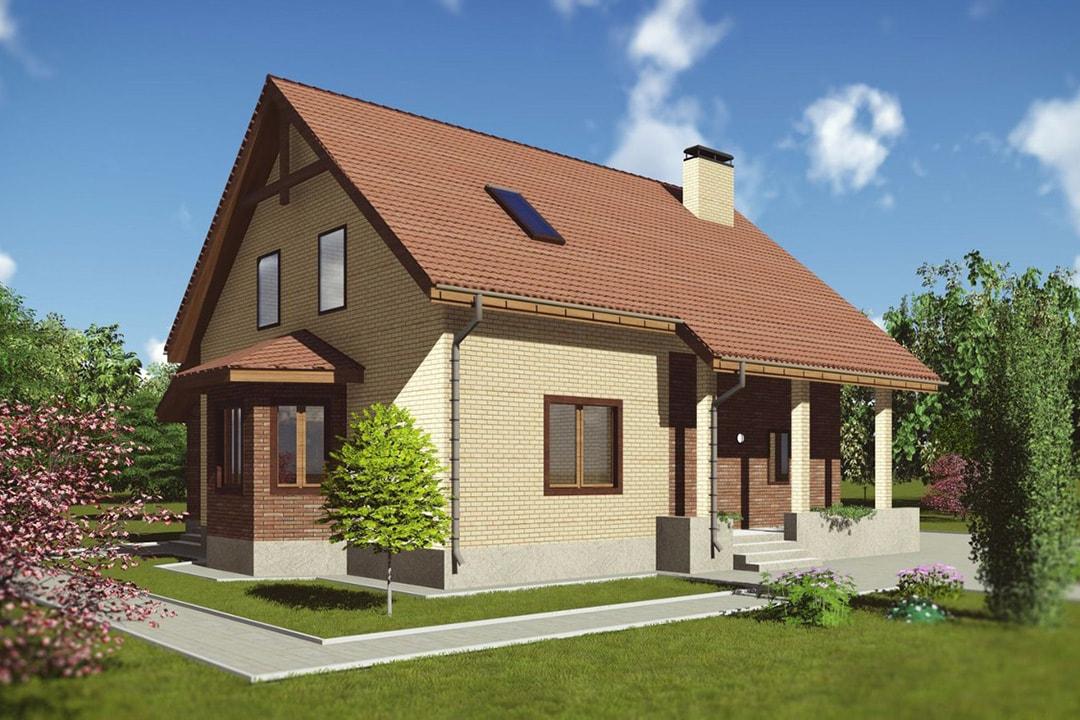 Фасад дома в канадском стиле фото 2