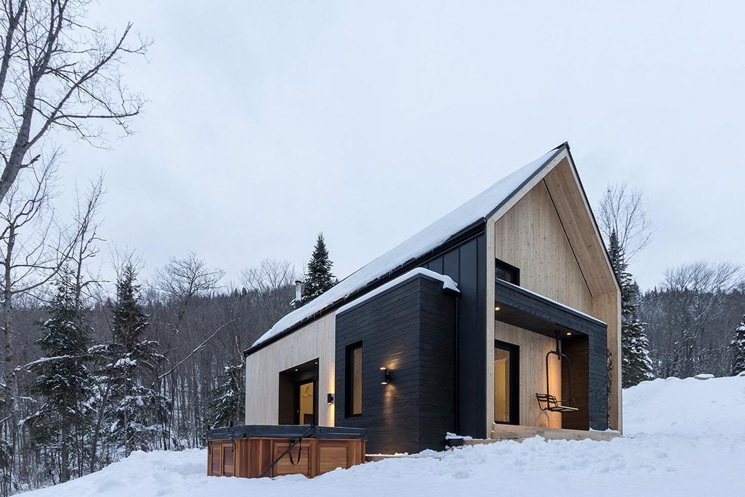 Фасад дома в скандинавском стиле фото 2