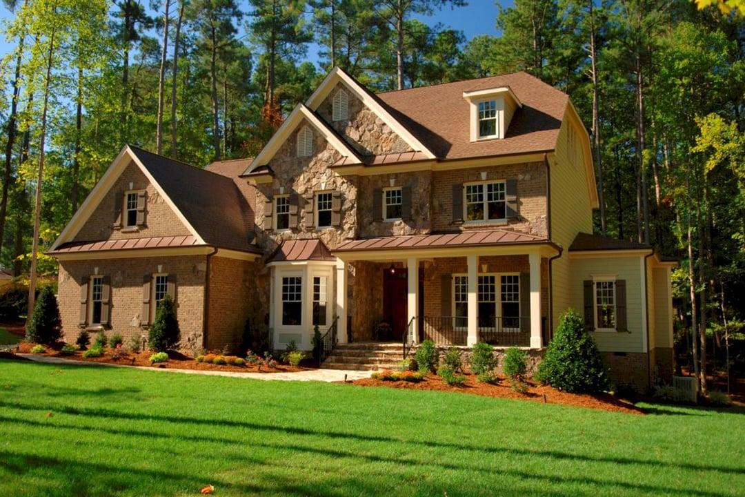 Фасад дома в стиле кантри фото 2