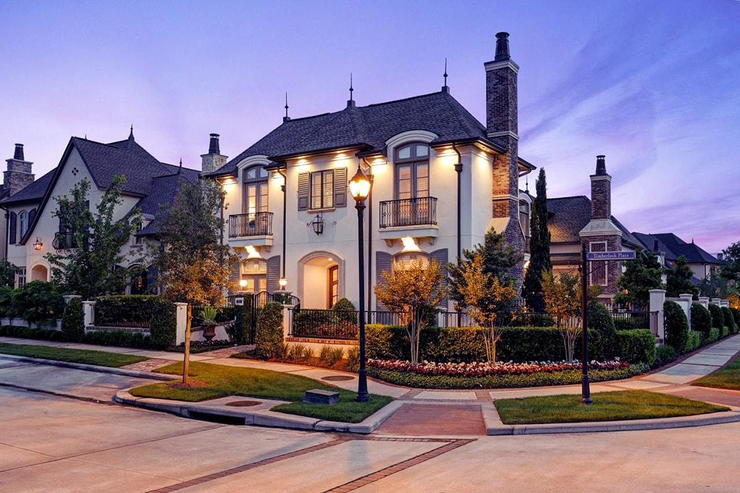Фасад дома в стиле прованс фото 1