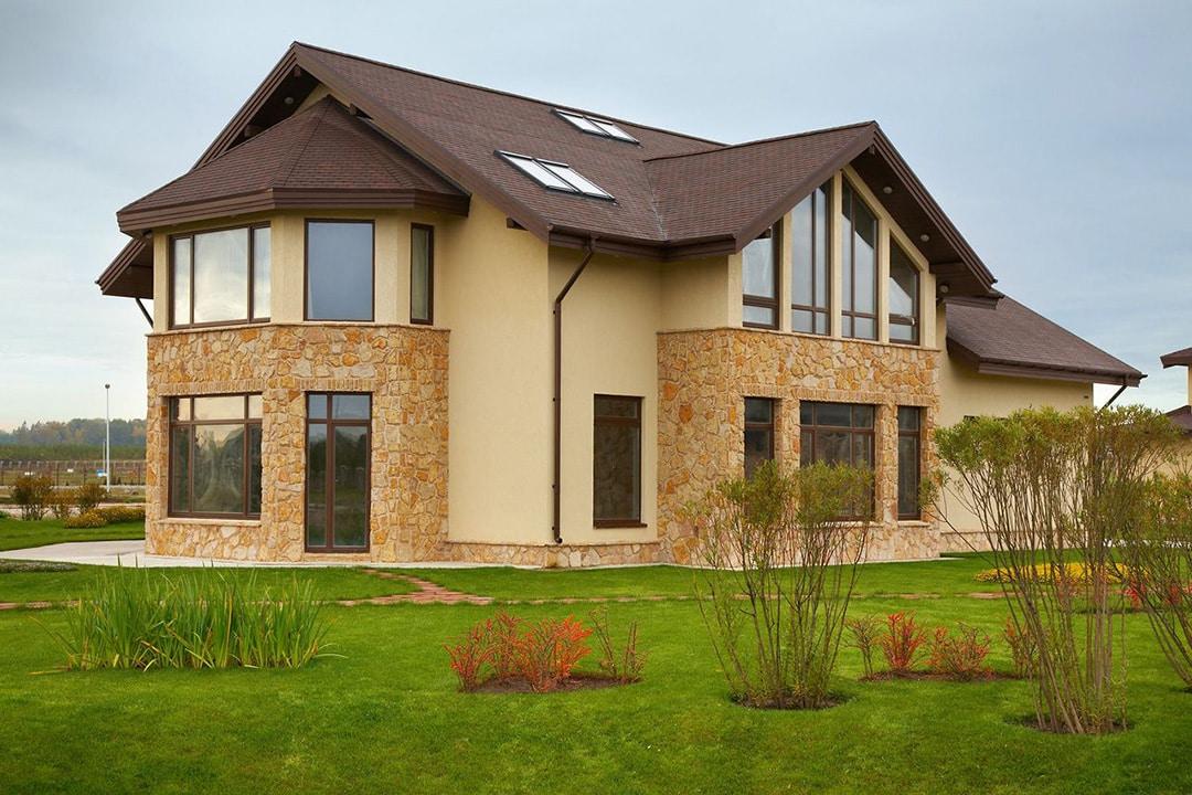 Фасад дома в стиле шале фото 1
