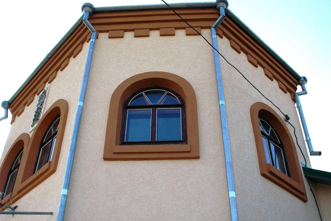 Типы и виды фасадной декоративной штукатурки - фото 6