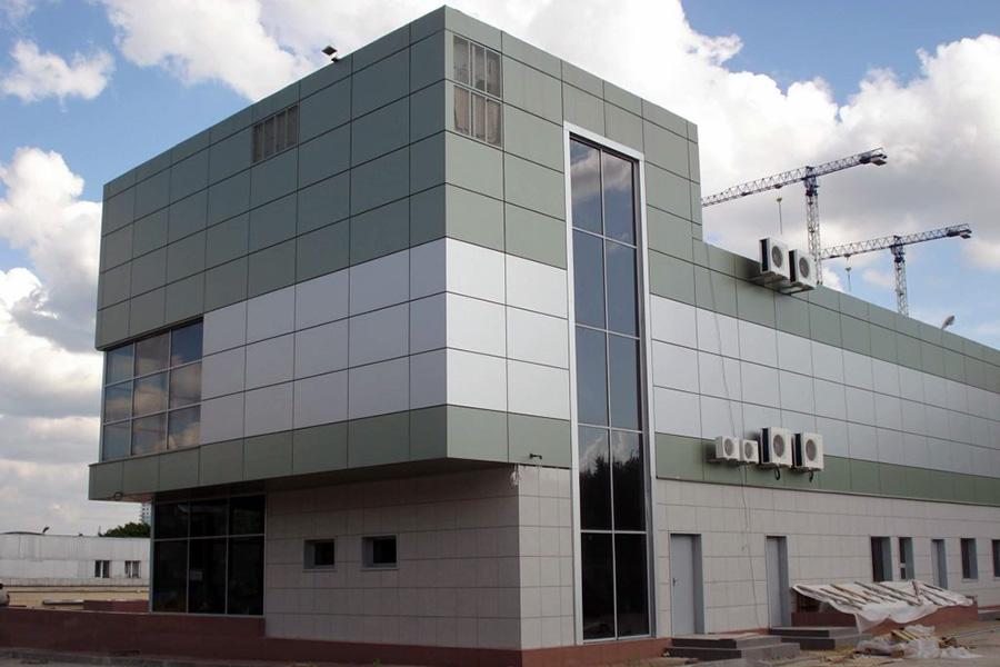 Фасадные панели из композитных материалов - фото 1