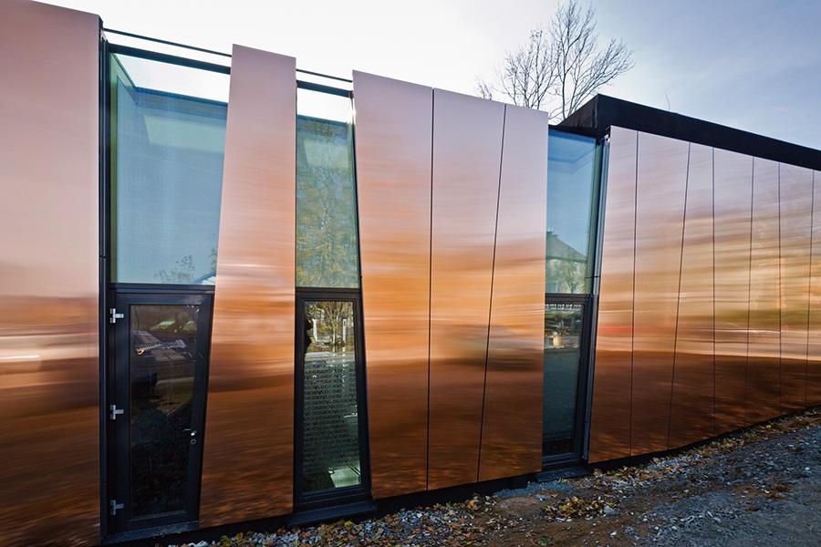 Металлические фасадные панели - фото 1