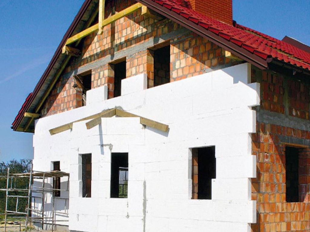 Утепление фасада дома пенопластом - фото 9