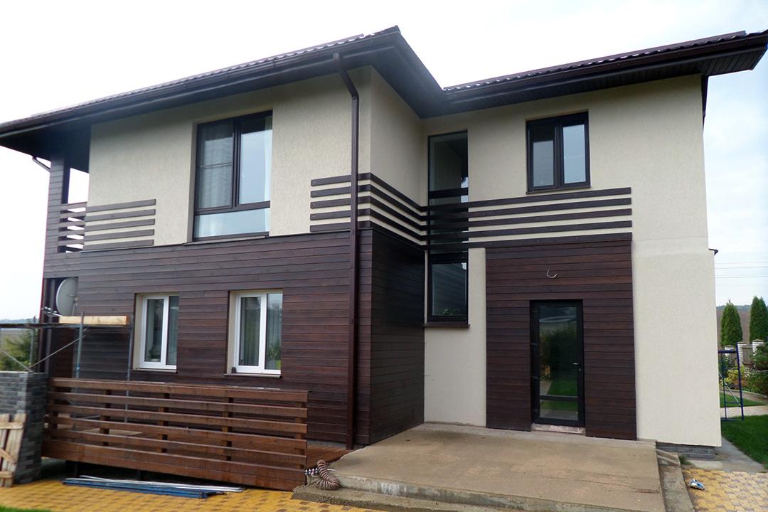 Фасадная доска для наружной отделки дома - фото 4
