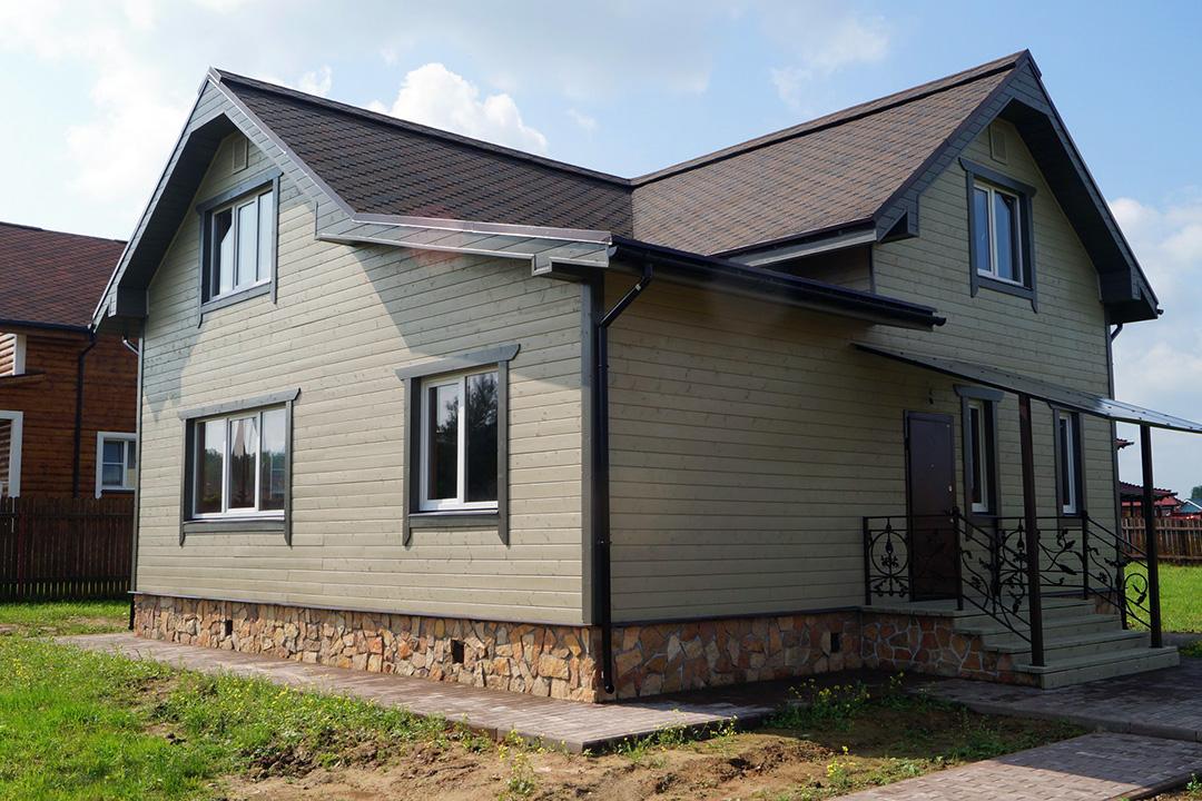 Фасадная доска для наружной отделки дома - фото 5