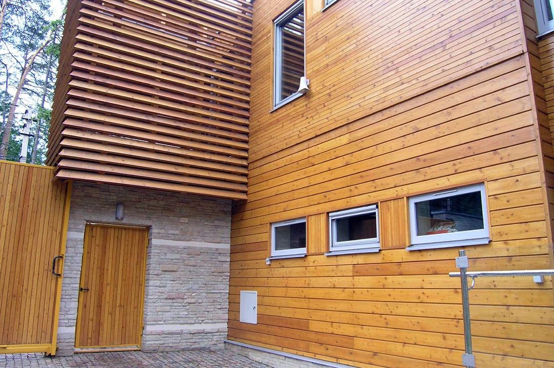 Фасадная доска для наружной отделки дома - фото 6