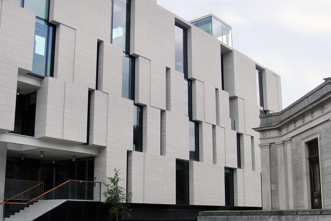Облицовка фасада керамогранитом - фото 5