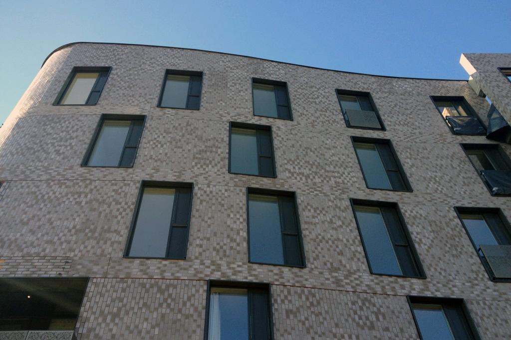 Отделка фасада клинкерной плиткой - фото 13