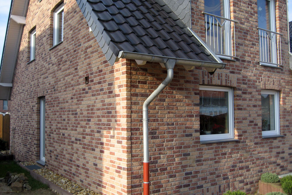 Отделка фасада клинкерной плиткой - фото 14