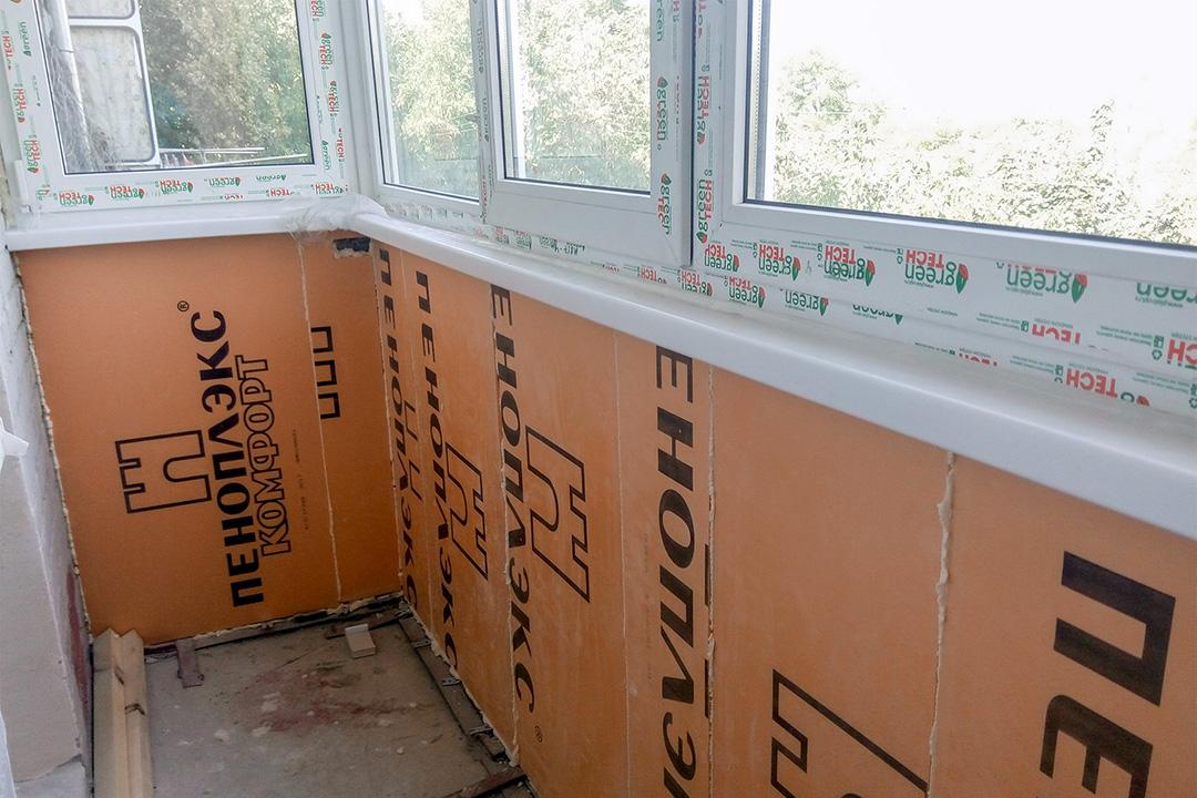 Утепление балкона в новостройке внутри и снаружи - фото 3
