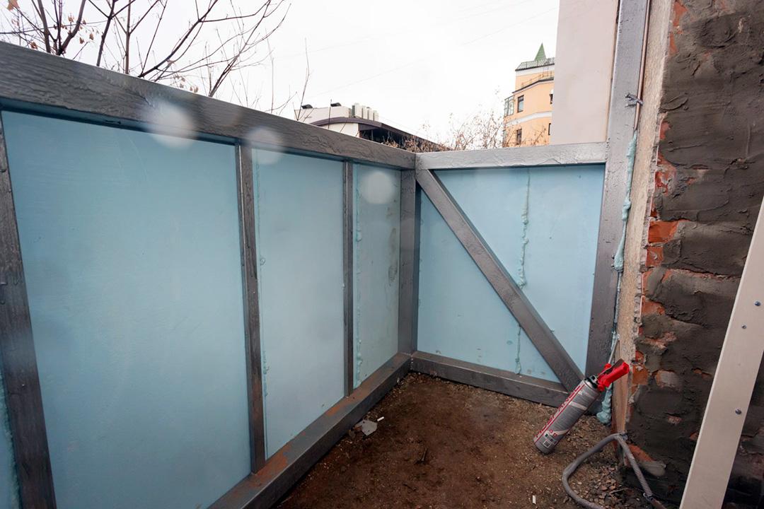 Утепление балкона в новостройке внутри и снаружи - фото 5
