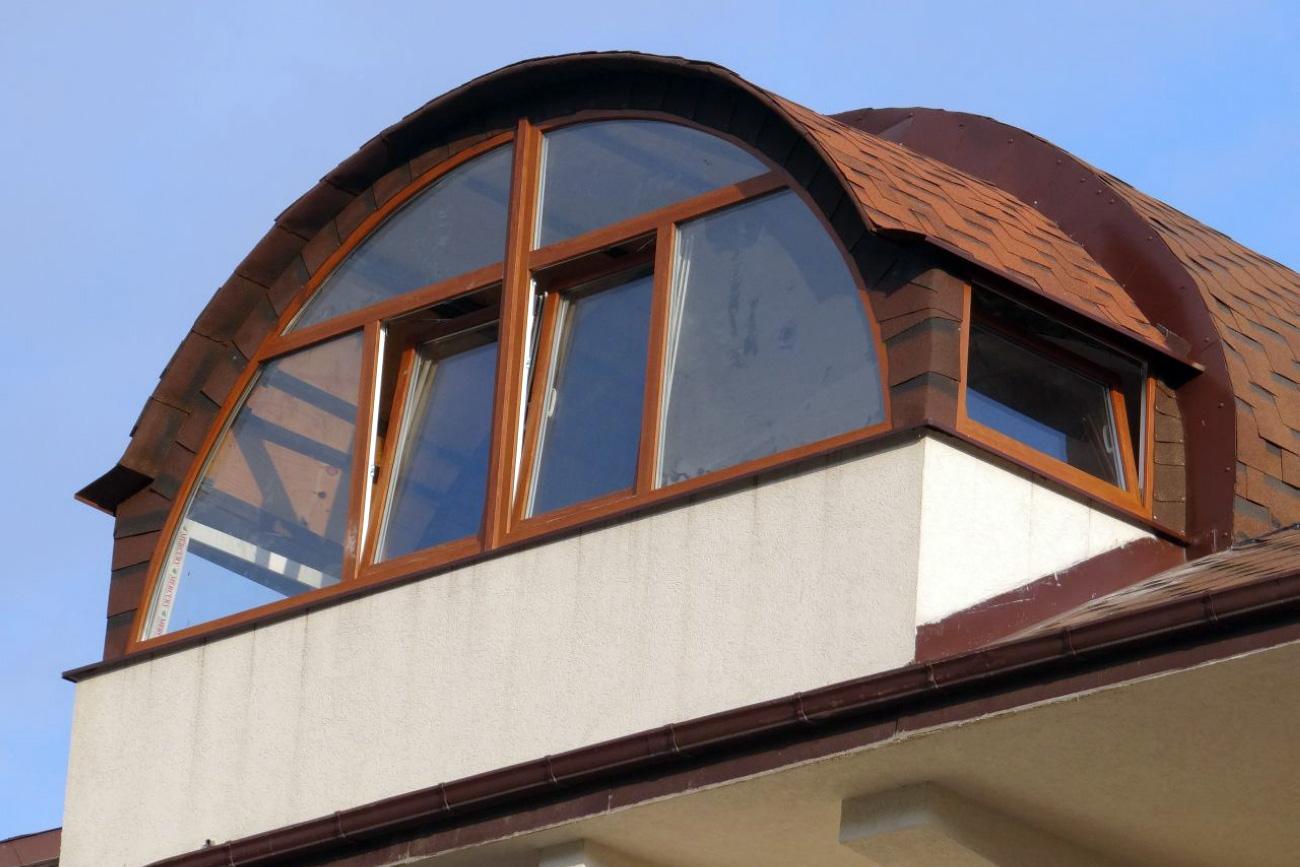 Тип остекления балкона: остекление балконов с крышей