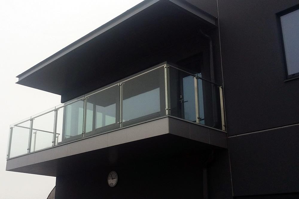 Остекление балконов и лоджий алюминиевым профилем - 2