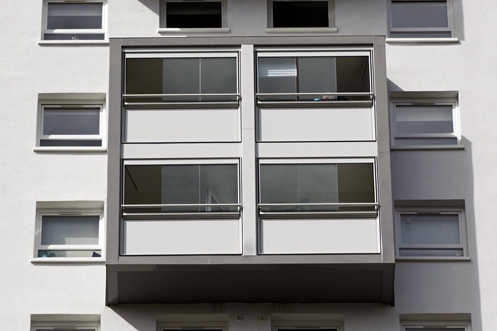 Достоинства алюминиевого остекления балконов - 2