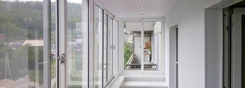 Отделка балкона и лоджий МДФ панелями