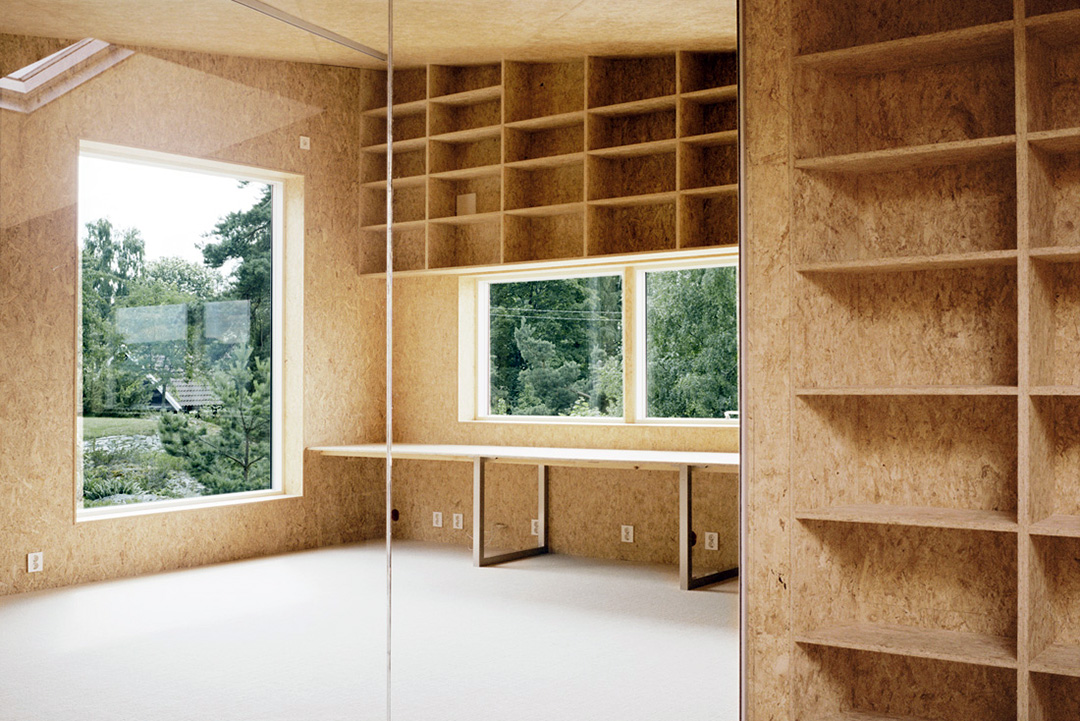 Внутренняя отделка балкона плитами ОСБ/ОСП