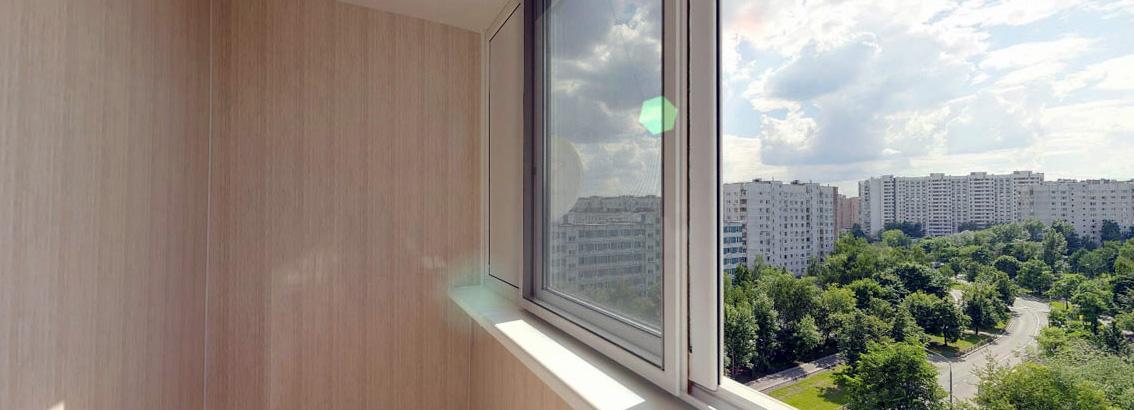 Отделка балкона/лоджии панелями ПВХ