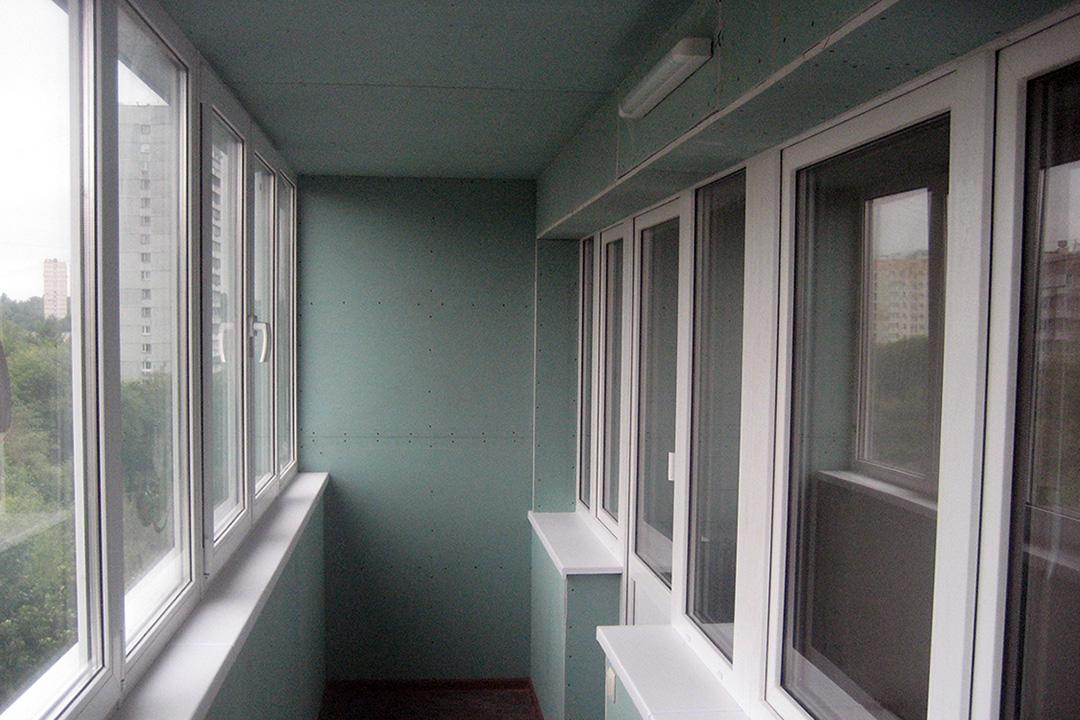 Как выбрать ГКЛ для отделки балкона