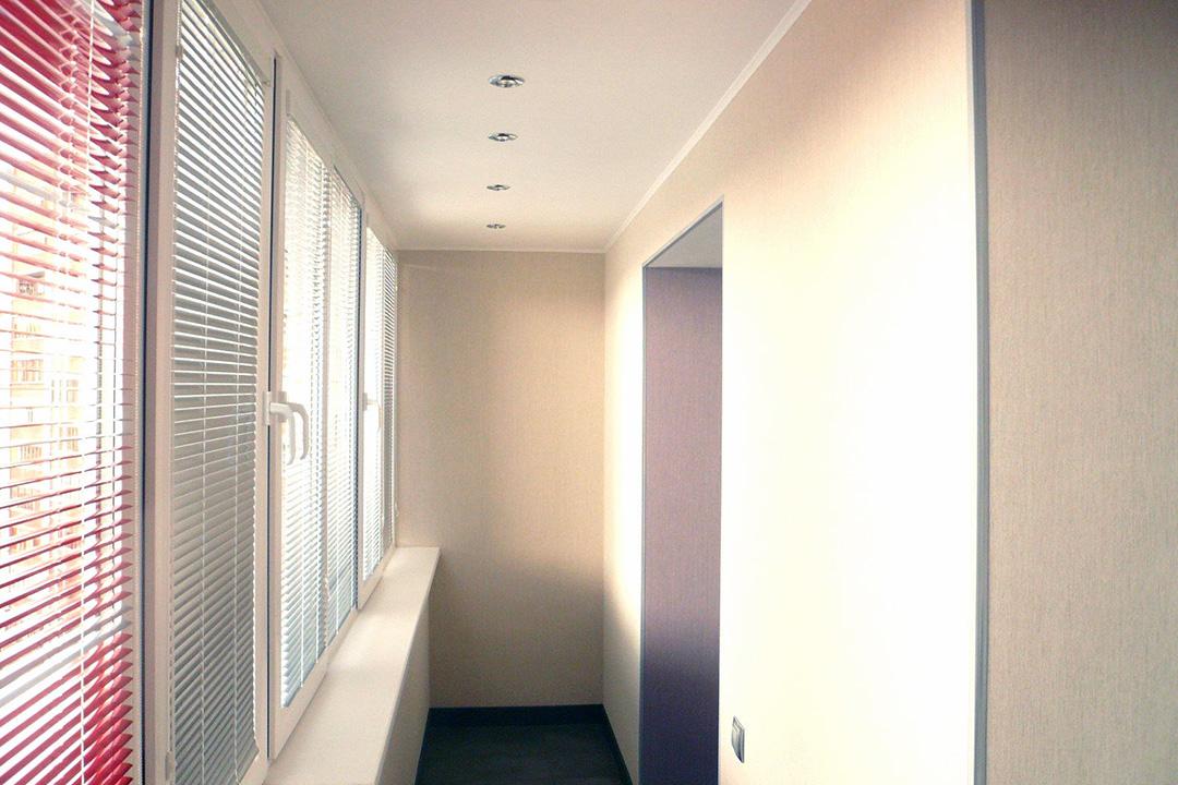 Отделка балкона/лоджии листами гипсокартона
