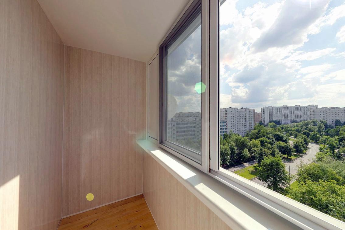 ПВХ панели для отделки лоджии и балкона