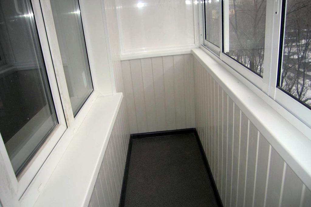 Этап 4: Ремонт балкона - отделка