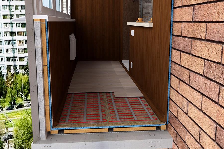 бюджетный и дешевый ремонт балкона поэтапно
