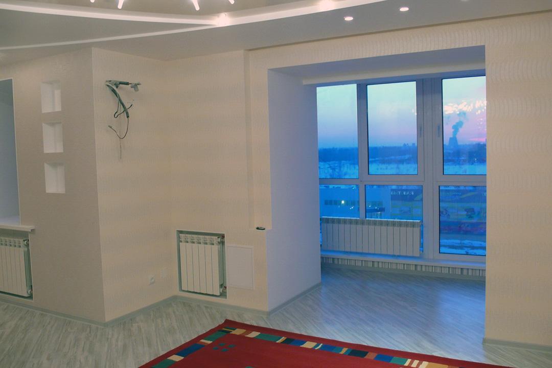 Отопление балкона при помощи обогревателей