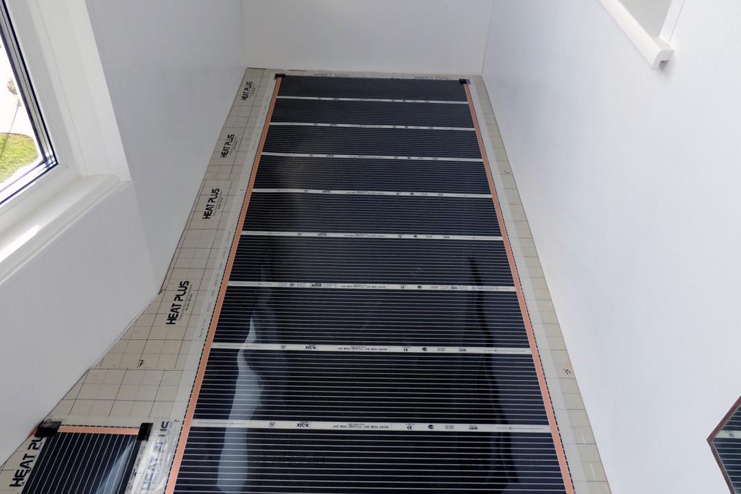 Установка водяного теплого пола на балконе