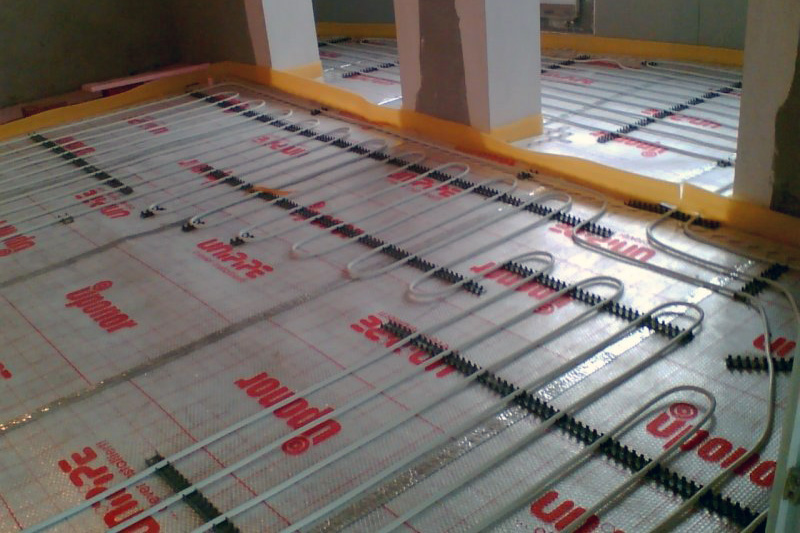 Монтаж теплого пола на балконе и лоджии
