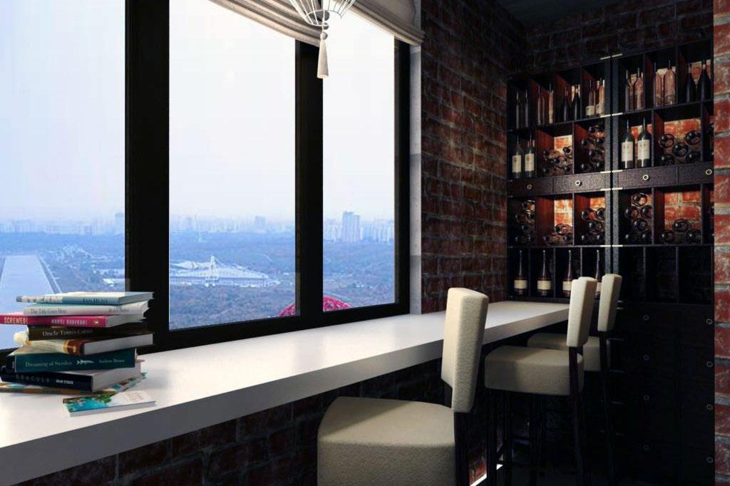 Какие имеются варианты объединения балкона и комнаты